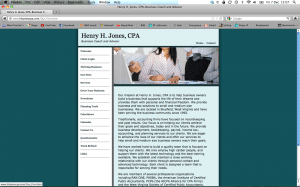 Henry Jones accounting firm old website