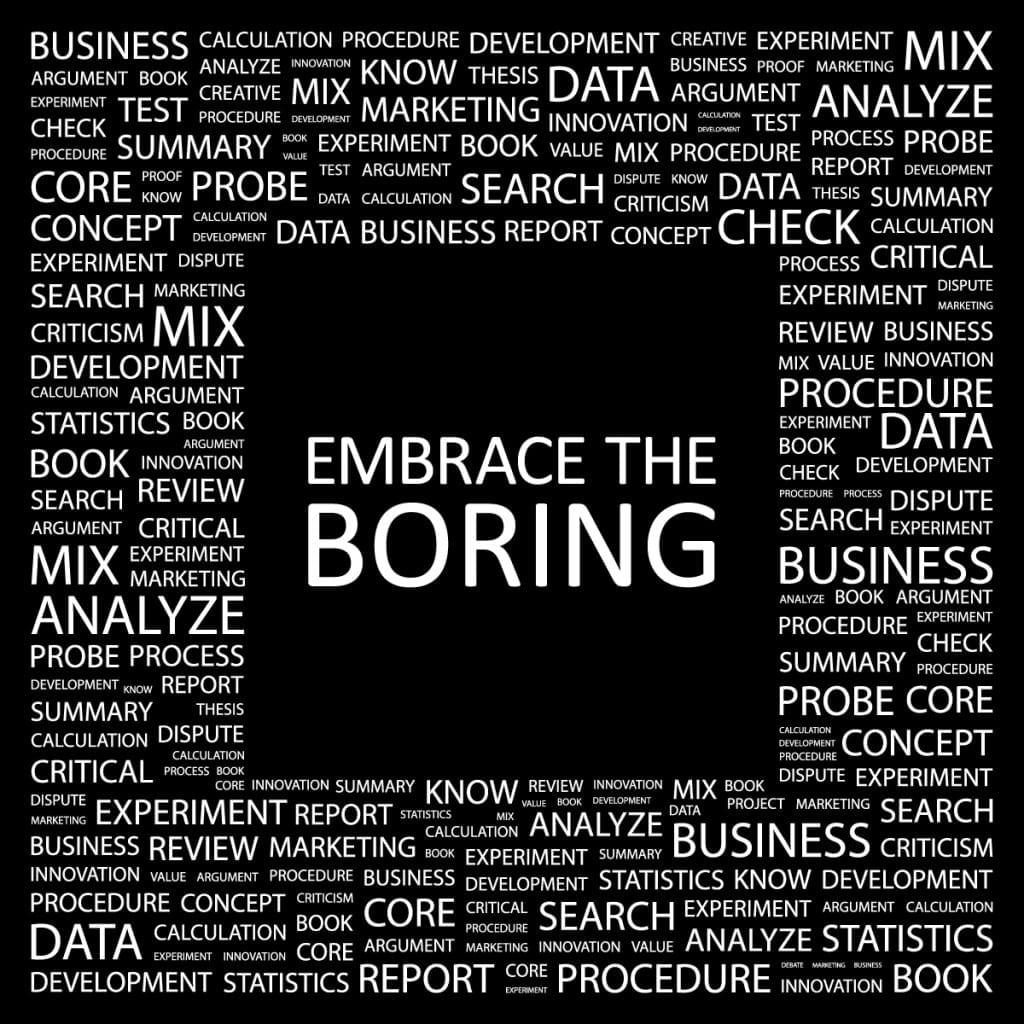 embrace+boring