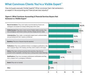 Hinge visible expert convinces accountant
