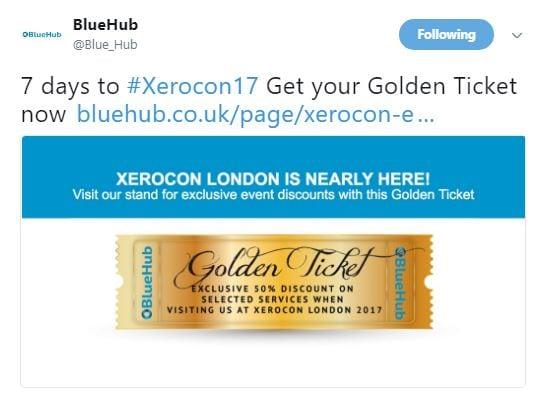 BlueHub Xerocon swag
