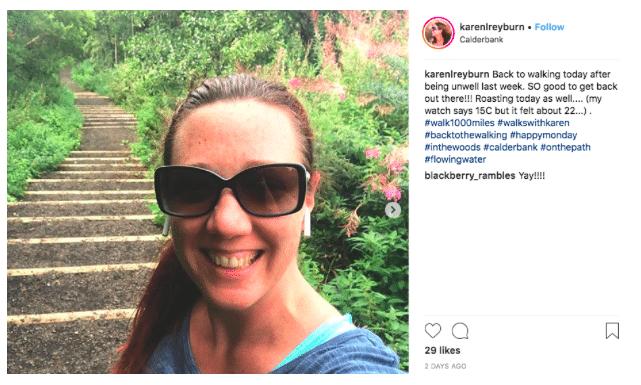 Karen Reyburn instagram
