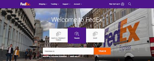 Fedex, onbrand, website, instagram, brand