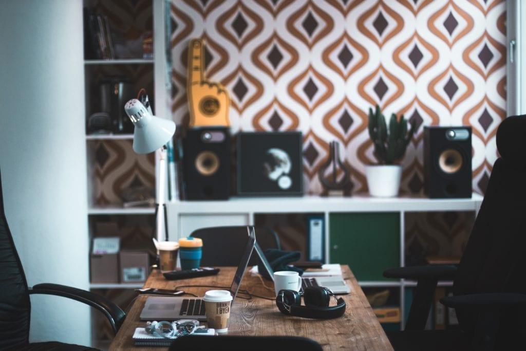 marketing manager desk