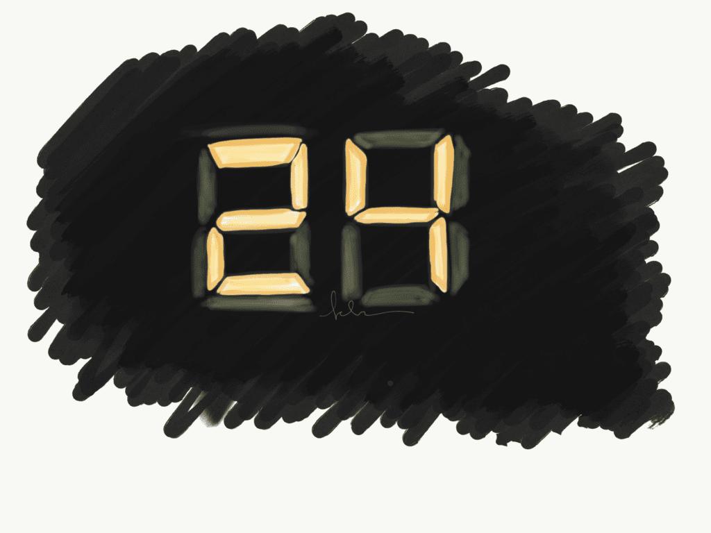 24 series blank time