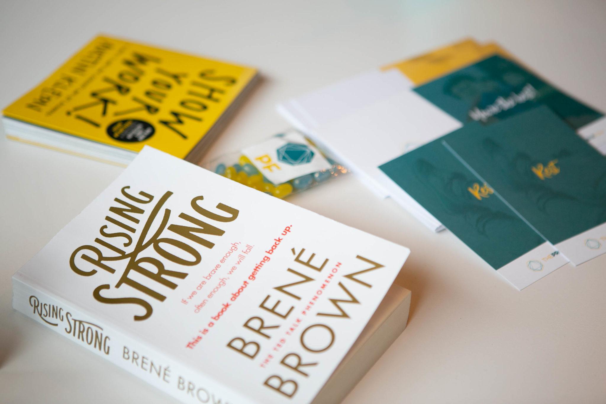 brene brown rising strong book