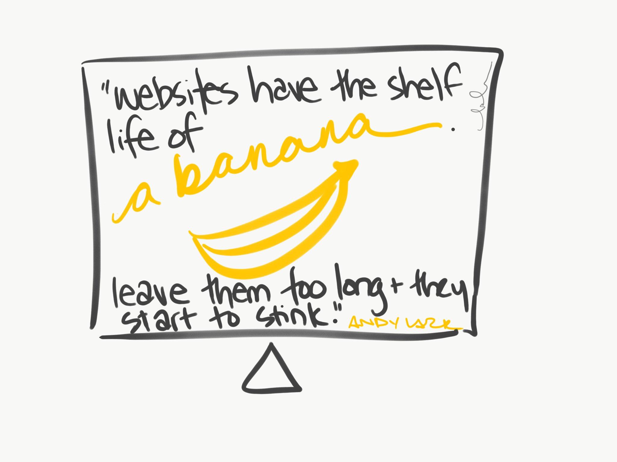 Andy Lark Websites Have a Shelf Life