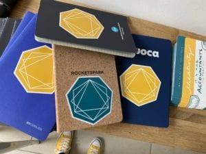 PF branded journal