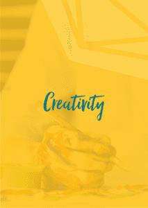 PF branded creativity card