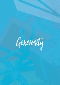 PF branded generosity card