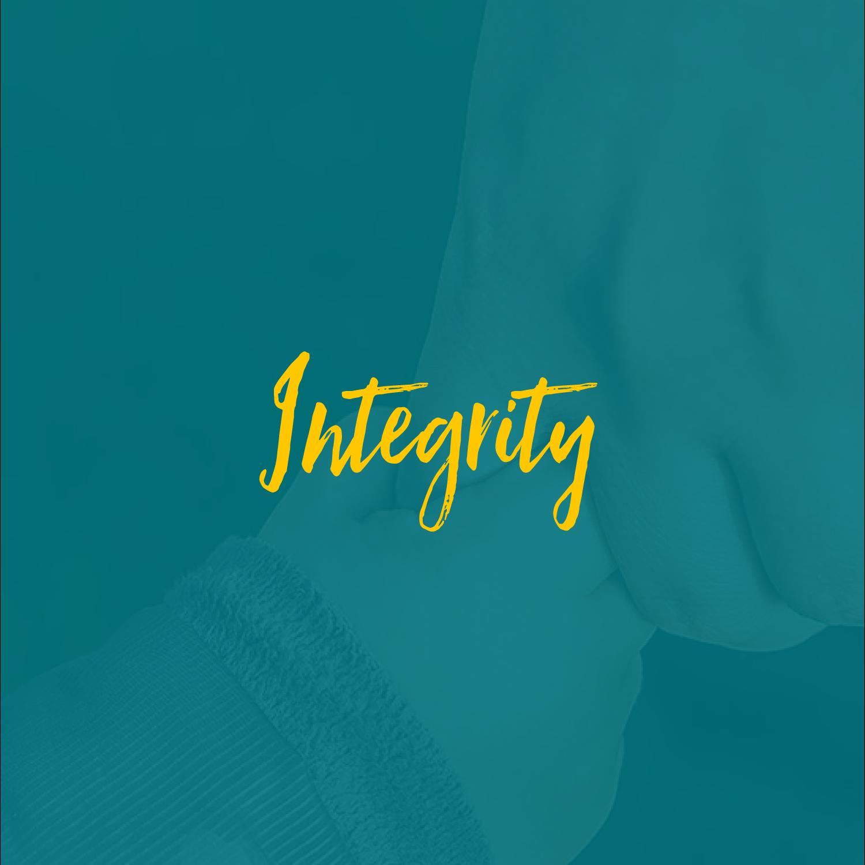 #integritypillar